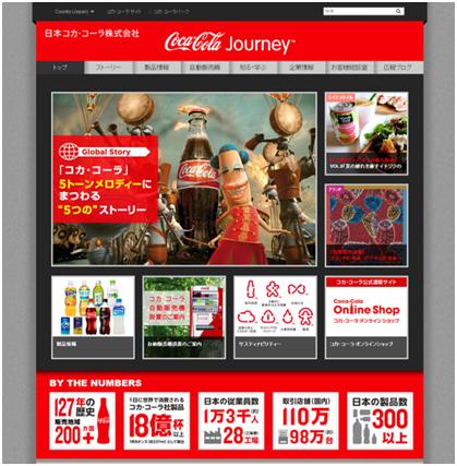 コカ・コーラ - 「Coca-Cola Journey」
